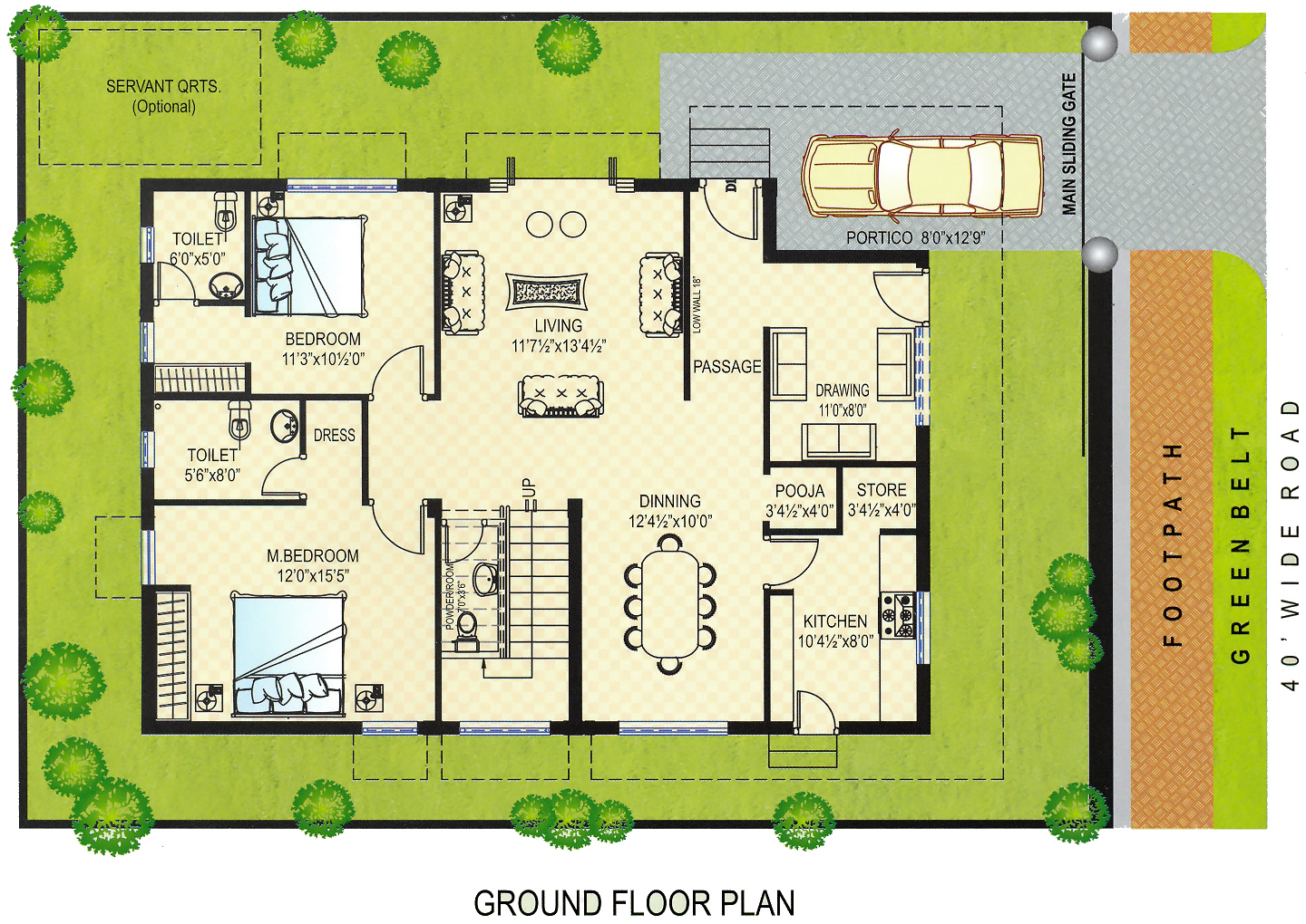 Tirupati temple town ground floor plans east Floor plans with pictures